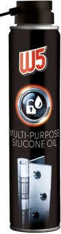 Univerzální silikonový olej ve spreji W5