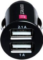 USB nabíječka do autozapalovače Connect It