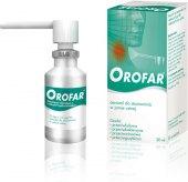 Sprej proti bolesti v krku Orofar