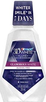 Ústní voda 3D White Crest