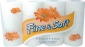 Utěrky kuchyňské 3vrstvé Fine&Soft