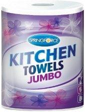 Utěrky kuchyňské 2vrstvé Jumbo Springforce