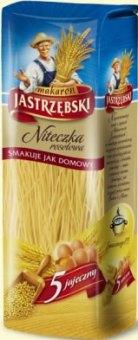 Těstoviny vaječné vlasové Nitka Jastrzebski