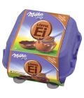 Čokoládová vajíčka plněná Milka