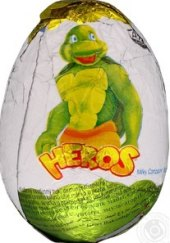 Čokoládové vajíčko Heros