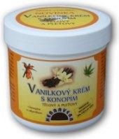 Krém vanilkový s konopím Herbavera
