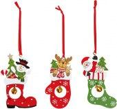 Vánoční dřevěné dekorace Melinera