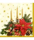 Ubrousky papírové vánoční