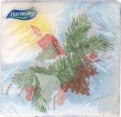 Ubrousky papírové vánoční Harmony