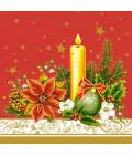 Ubrousky papírové vánoční Lambi