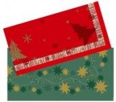 Ubrousky z netkané textilie Vánoční Duni