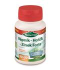 Doplněk stravy Vápník-hořčík-zinek forte Naturline