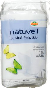 Odličovací tampony Maxi Duo Natuvell