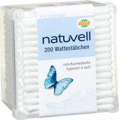 Tyčinky vatové Natuvell