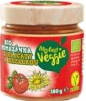 Veganská pomazánka s rajčaty a bazalkou Bio My best Veggie