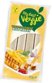 Vegetariánské bílé párky My best Veggie