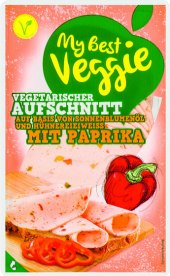 Vegetariánský nářez s chili a paprikou My best Veggie