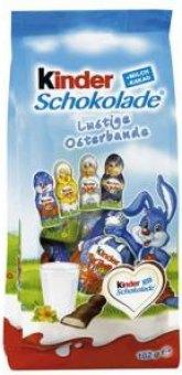 Čokoládové figurky velikonoční Kinder