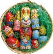 Velikonoční čokoládový košíček
