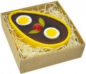Velikonoční paštika s brusinkami v keramické misce Paté du Chef