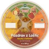 Sýr tvarůžky olomoucké Pozdrav z Loštic A.W.
