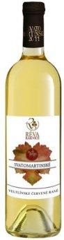Víno Veltlínské červené rané - svatomartinské
