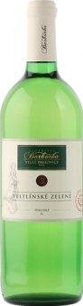 Víno Veltlínské zelené Vinařství Barborka