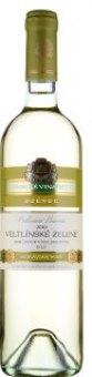 Víno Veltlínské zelené Cellarium Bisencii Zámecké vinařství Bzenec