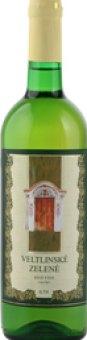 Víno Veltlínské zelené Vinařství  Mutěnice