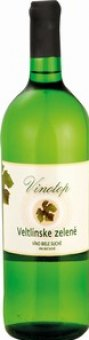 Víno Veltlínské zelené Vinotop