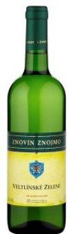 Víno Veltlínské zelené Znovín Znojmo
