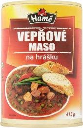 Vepřové maso na hrášku Hamé - konzerva