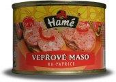 Vepřové maso na paprice Hamé - konzerva