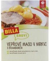 Vepřové maso s mrkví a bramborem Easy Billa