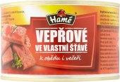 Vepřové maso ve vlastní šťávě Hamé