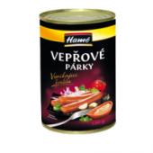 Vepřové párky Hamé Vynikající kvalita - konzerva