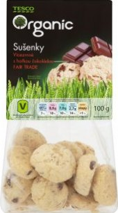 Sušenky vícezrnné Tesco Organic