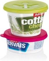 Víčka na jogurty Presto Tescoma
