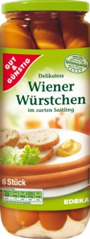 Párky vídeňské Gut&Günstig Edeka