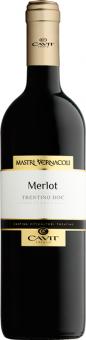 Vína Merlot Mastri Vernacoli Cavit Trento