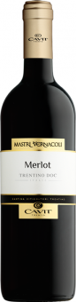 Víno Merlot Mastri Vernacoli Cavit Trento