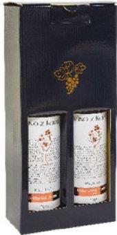 Víno RM rosé + VZ Víno z Kobylí - pozdní sběr, dárkové balení