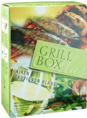 Víno Airen - Sauvignon Cuvée Grillbox - bag in box