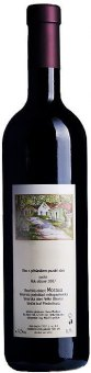 Víno Alibernet Vinařství František Mádl - pozdní sběr