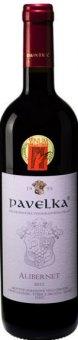 Víno Alibernet Vinařství Pavelka a syn - výběr z hroznů