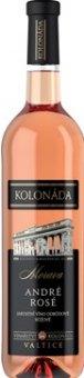 Víno André Rosé Vinařství Kolonáda Valtice
