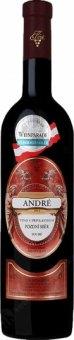 Víno André Vinařství Krist Milotice - pozdní sběr