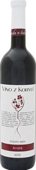 Víno André Víno z Kobylí - pozdní sběr