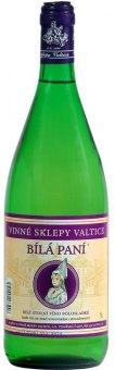 Víno Bílá paní Valtice