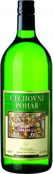 Víno bílé Cechovní pohár